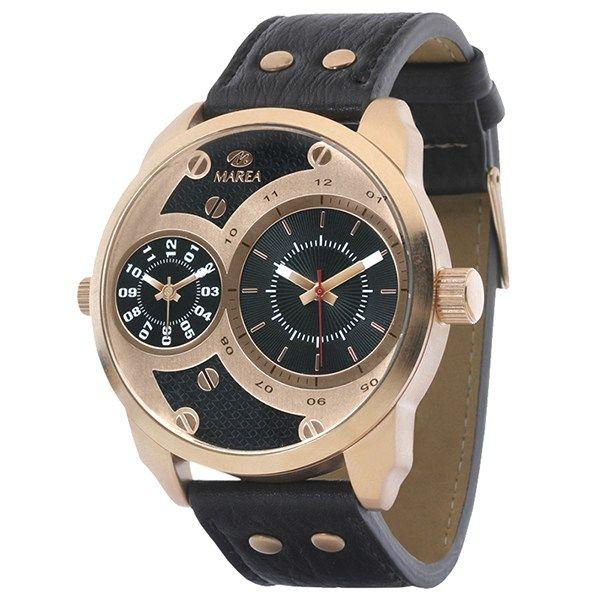 marea b21158-04 ανδρικό ρολόι με διπλή ένδειξη ώρας