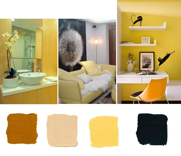 Yellow Home Decor Color Scheme