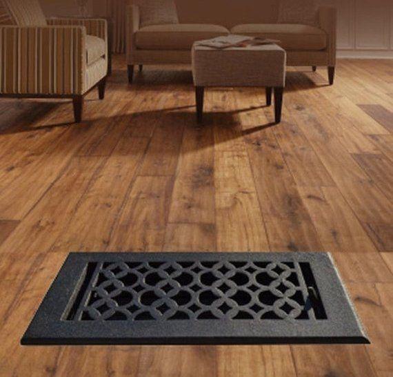 Re Paint Able Cast Aluminum Floor Grate 8 X14 Designer Home Decor