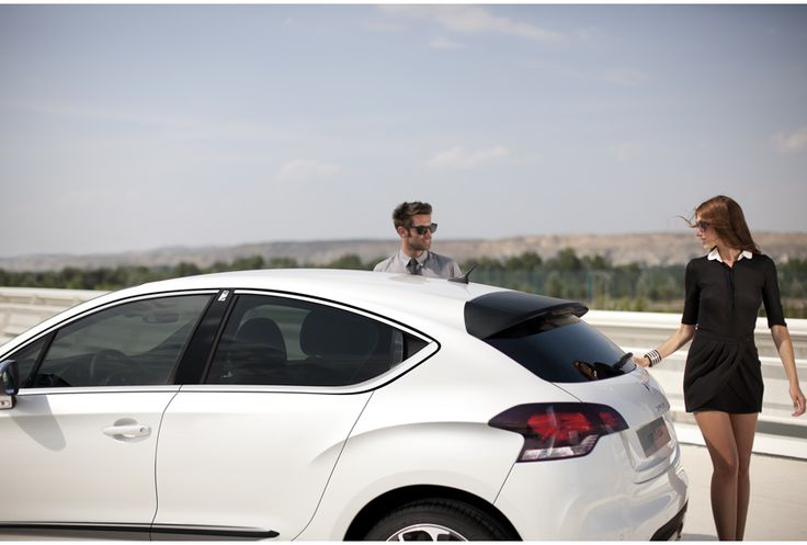 White Citroen DS4