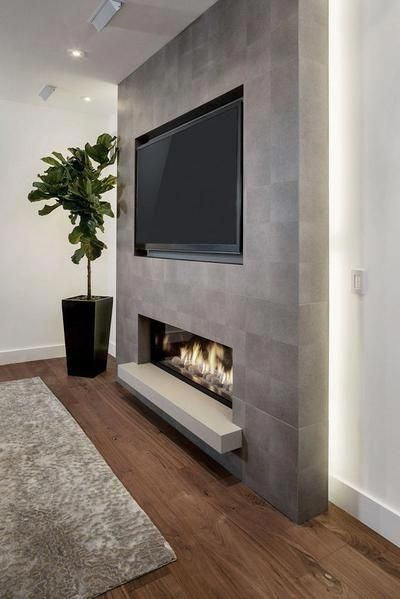 LED Fireplace 50″
