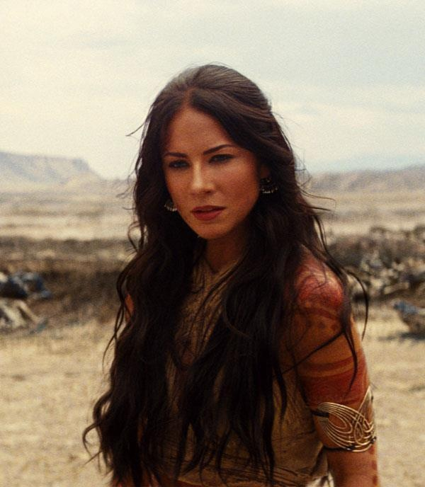 "Lynn Collins as the lovely Princess of Mars ""Dejah Thoris"" in Disney's science-fiction-fantasy adventure romance ""John Carter"""