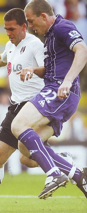 Fulham 3 Man City 3 in Sept 2007 at Craven Cottage. Richard Dunne was on his best behaviour after a recent red card #Prem