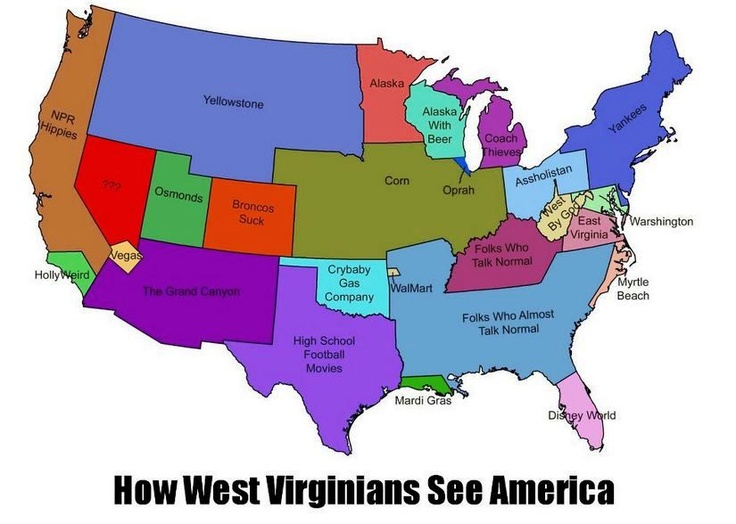 Best West Virginia Images On Pinterest West Virginia West - Virginia on map of usa