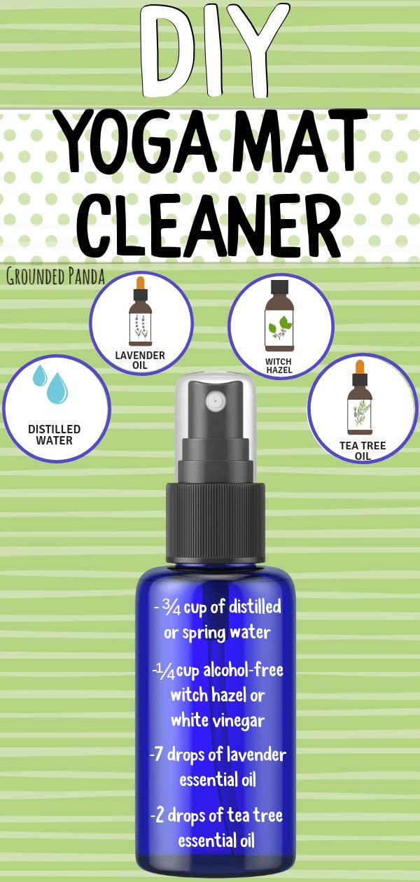 How To Make Your Own Diy Yoga Mat Cleaner 2020 Yoga Mat Cleaner Yoga Mat Spray Yoga Mat Diy