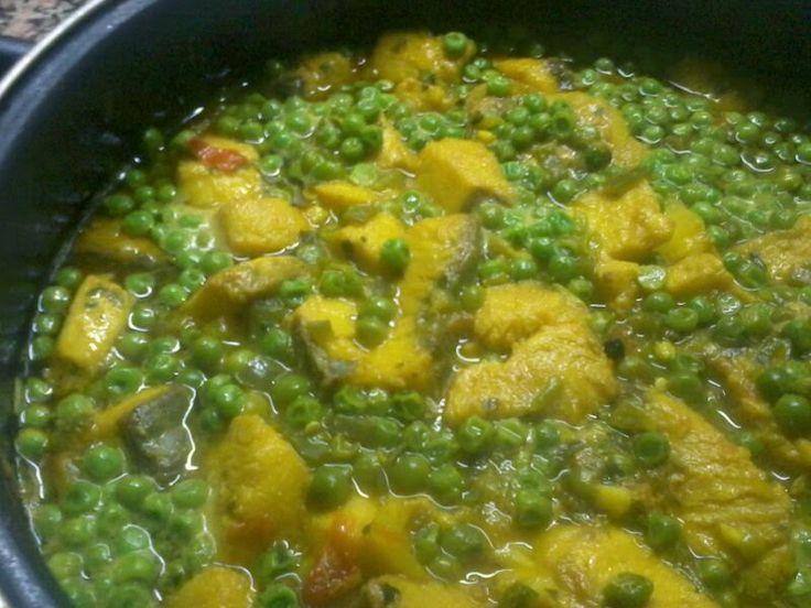 Cocina conmigo (II): Hoy, cazón en amarillo