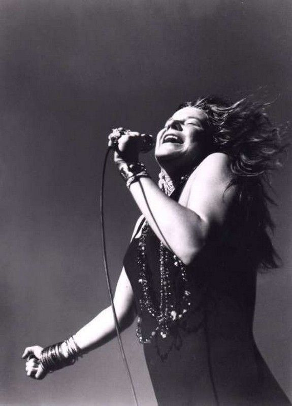 Janis Joplin, such a great one.                                                                                                                                                                                 More