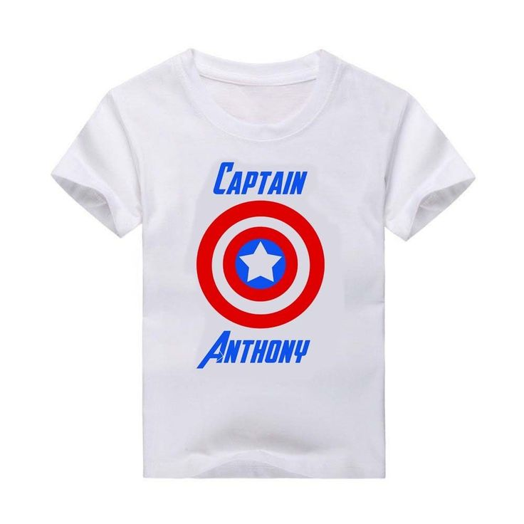 T-shirt, Custom T-Shirt, Superhero, Captain America t-shirt, Captain America #Handmade
