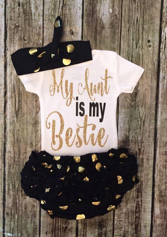 My Aunt Is My Bestie Onesie - BellaPiccoli