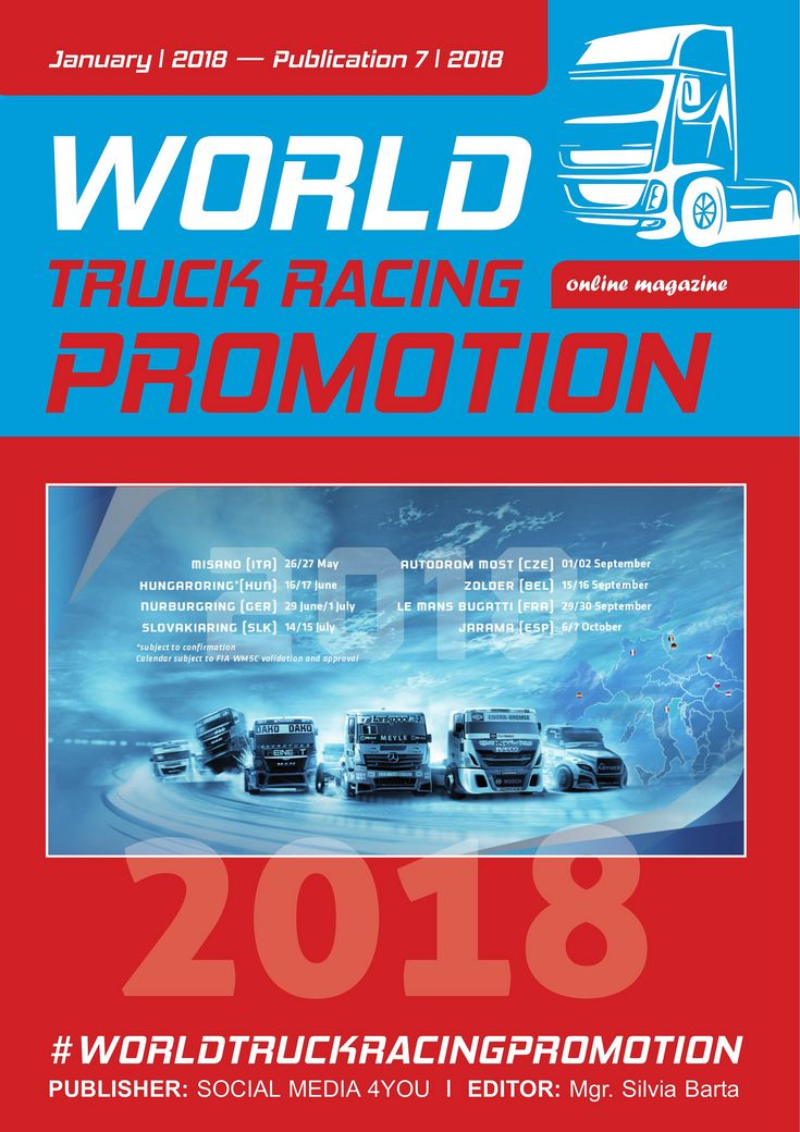 https://flic.kr/s/aHsm8G6ULY | WORLD TRUCK RACING PROMOTION - January 2018 | issuu.com/worldtruckracingpromotion/docs/ct_leden_world_t...