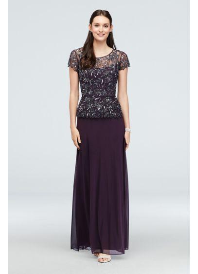 0e49e13b69b Long A-Line Cap Sleeves Formal Dresses Dress - Pisarro Nights
