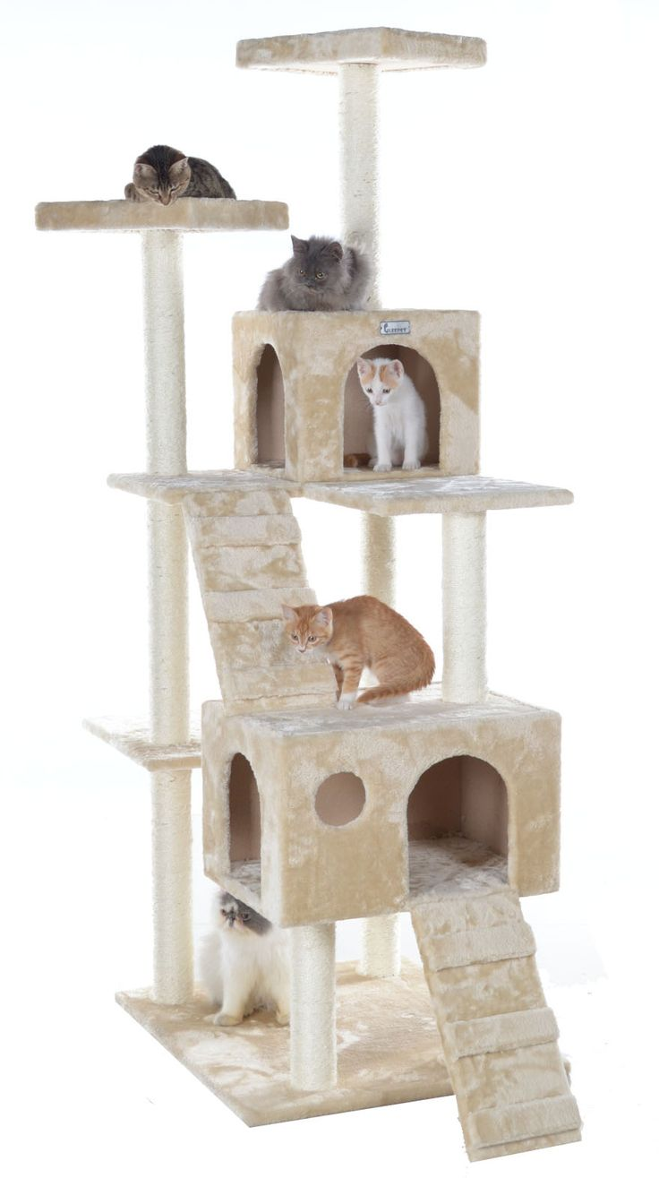 54 best images about cat towers on pinterest cat play. Black Bedroom Furniture Sets. Home Design Ideas