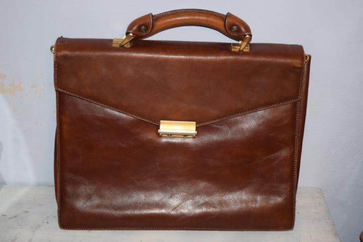 Vintage Koffer - hellbraune Vintage Aktentasche, Stratic - ein Designerstück von VitaMonella bei DaWanda