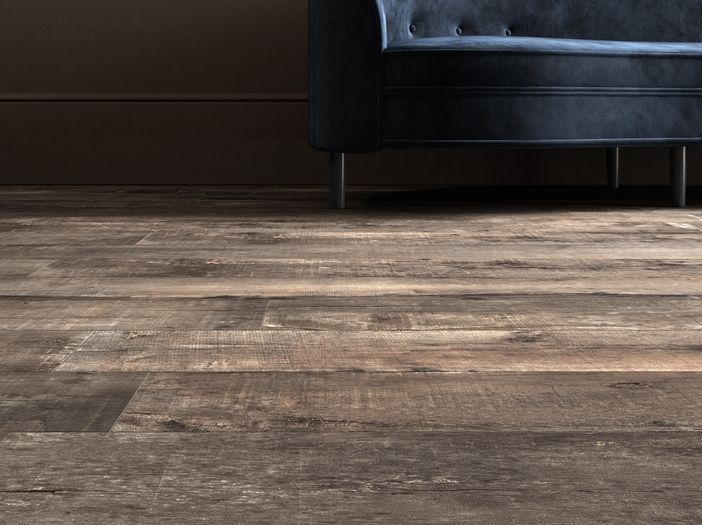 NIRVANA range of timber look porcelain is inspired by the concept of recycled timber materials.