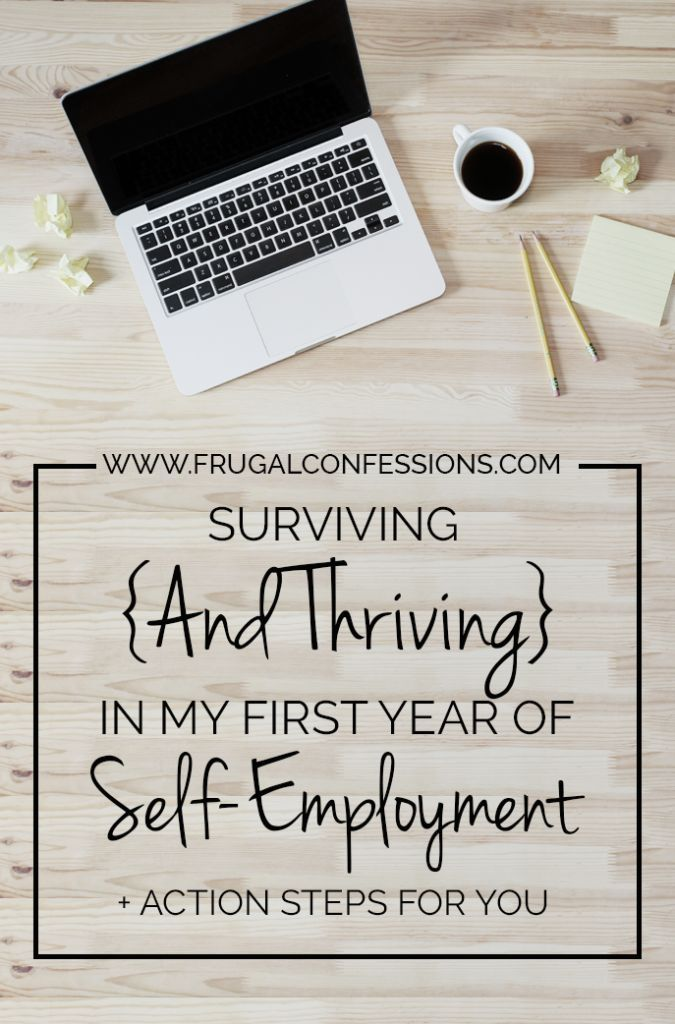Thinking of going through the self-employment route? Some useful tips here! | www.frugalconfess...
