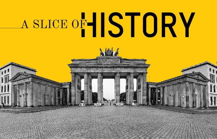 Read know a slice of history about Brandenburg gate, berlin wall, Reichstag builiding, Museum island, Heidelberg castle. https://goo.gl/syFCQI