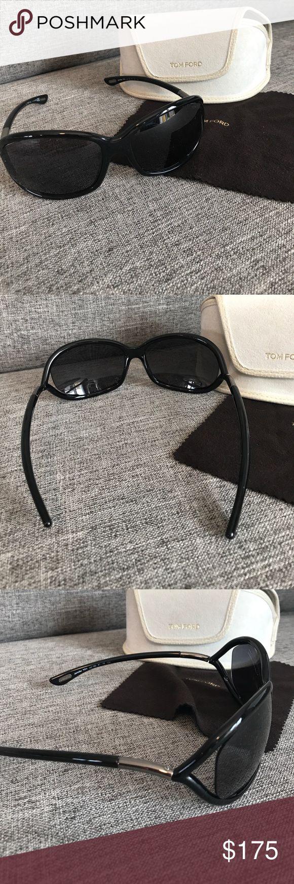 Tom Ford - Jennifer Sunglasses. Tom Ford - Jennifer Sunglasses. Signature Jennifer sunglasses includes Tom Ford case and Tom Ford sunglasses cleaner cloth. Black sunglasses. Tom Ford Accessories Sunglasses