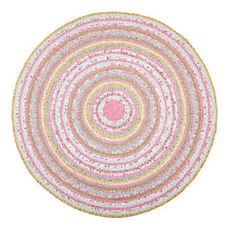 Kids Circular Multicoloured Rug | ZARA HOME España