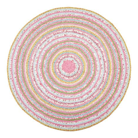 Kids Circular Multicoloured Rug | ZARA HOME España