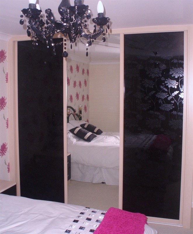 swan sliding doors with black floral glass swan glass sliding doors helping you to