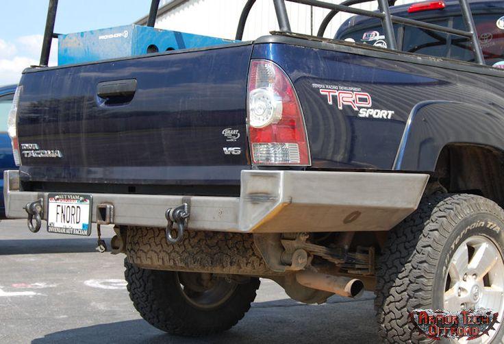 2005 - 2013 Tacoma Rear High Clearance Wraparound Bumper