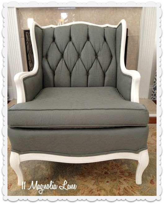 Tutorial: How to Paint Upholstery Fabric and Completely Transform a Chair! |