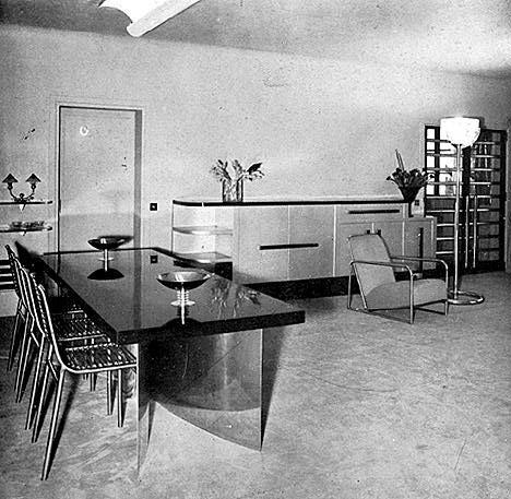 the studio on rue mechain paris 14 1931 tamara de. Black Bedroom Furniture Sets. Home Design Ideas