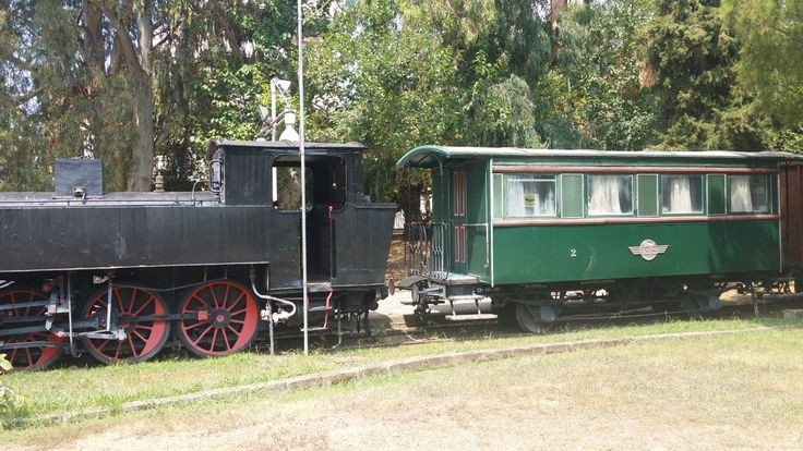 Trains. Open air museum. Kalamata/Penny In Wanderland