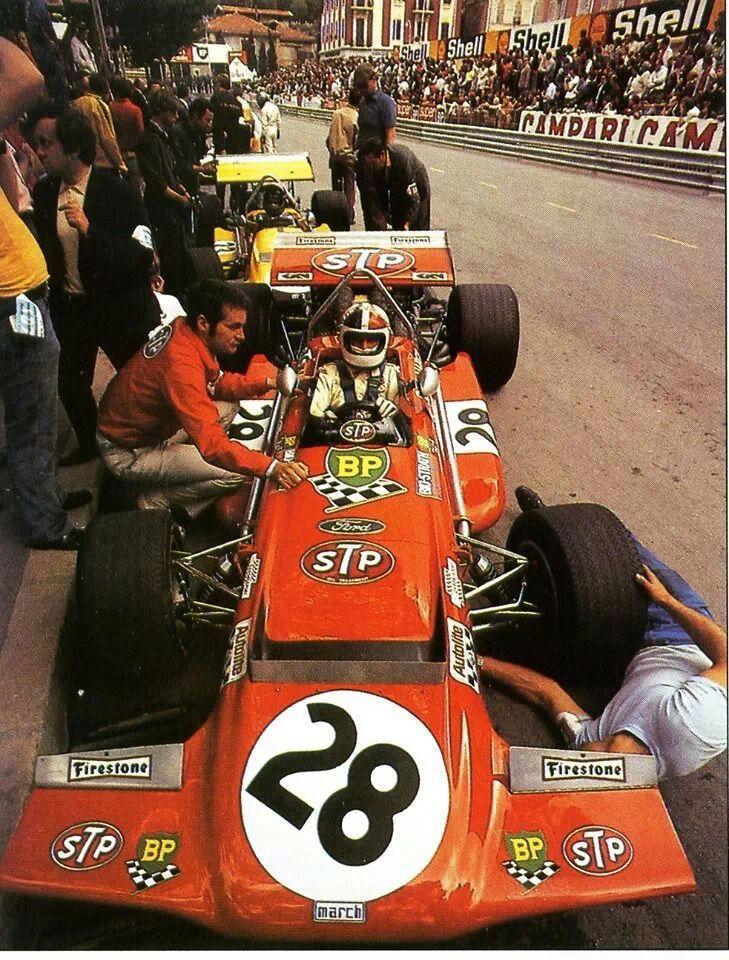 Chris Amon, Monaco GP 1970.