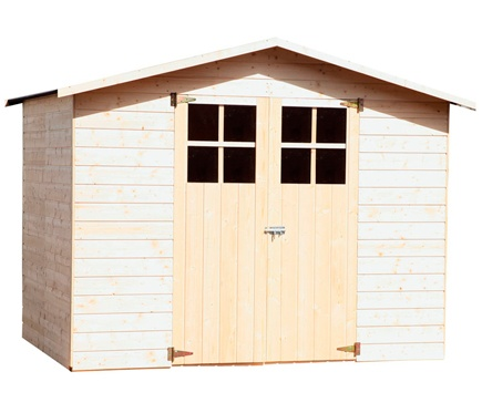 M s de 1000 ideas sobre abri de jardin bois en pinterest for Caseta de jardin leroy merlin