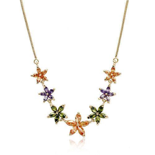 Мода стиль красочные пентаграмма несколько подвеска ожерелье, большие скидки ожерелье