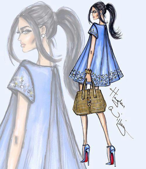 Mavi moda tarzı