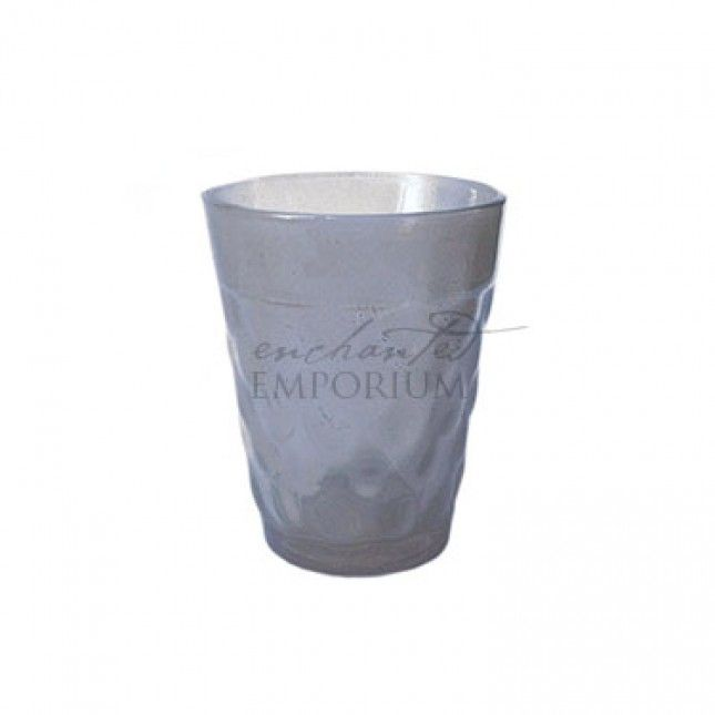 Taupe Ripple Tealight Votive, Enchanted Emporium