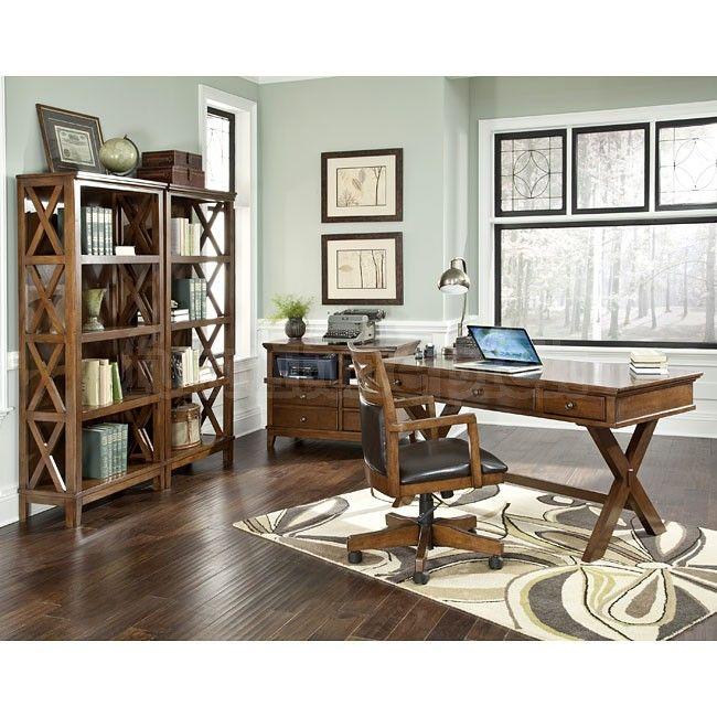 Burkesville 4 Piece Home Office Set By Signature Design Ashley At Belfort Furniture