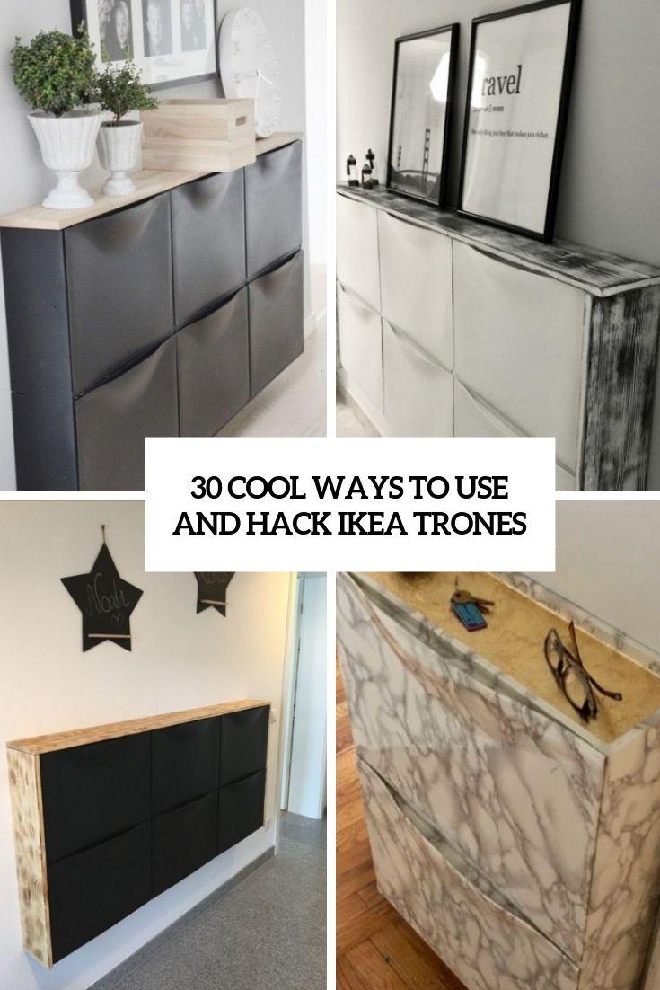30 Cool Ways To Use And Hack Ikea Trones Ikea Hack Storage Ikea