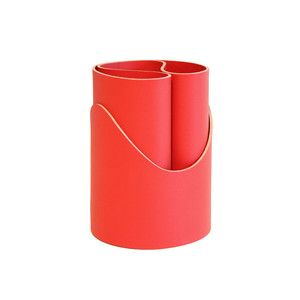Curly Pencil Holder Red, $20, now featured on Fab.
