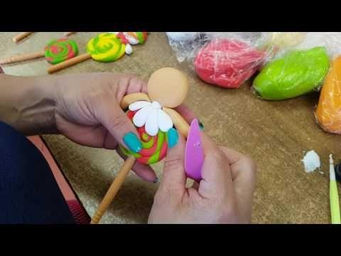 Colombia Mimi Luna con Joanna Avila creando piezas de Masa Flexible Navideñas 1/4 - YouTube
