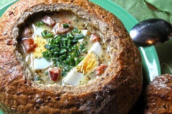 Журек или жур – невероятно вкусный и оригинальный суп польской и белорусской кухни, который известен у славянских...