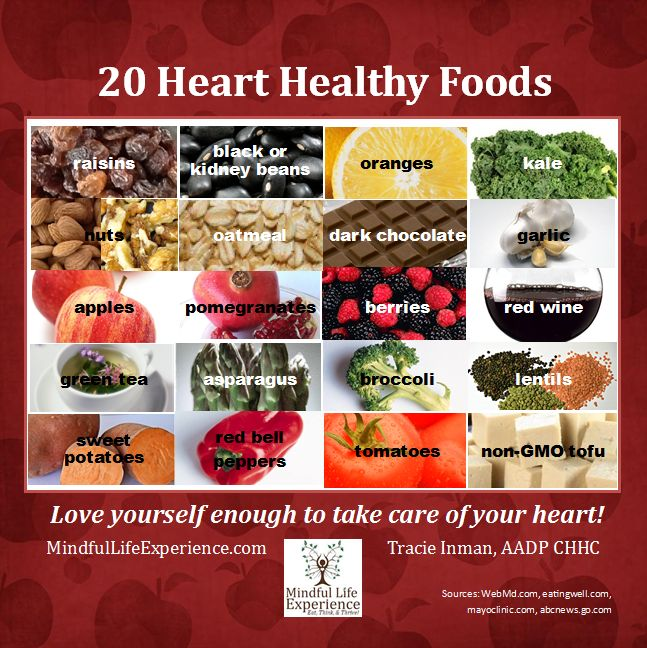 Heart Month: Heart Healthy Foods