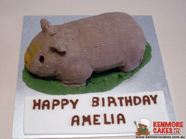 Wombat Birthday Cake