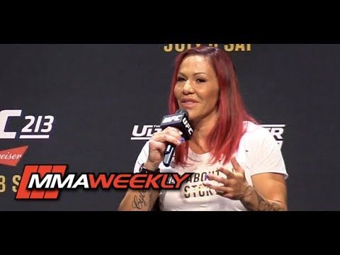 MMA Cris Cyborg on Finally Fighting for UFC Belt: 'This Day Will Be My Day'