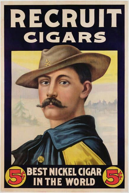 Recruit Cigars, Best Nickel Cigar in the World and Quite Possibly the Best Moustache.