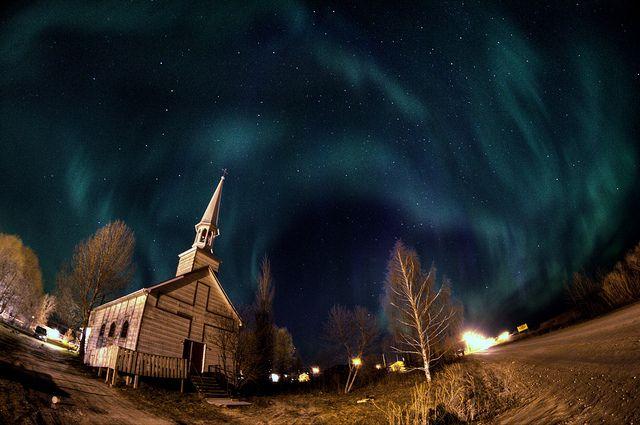 Aurora in Moose Factory, Ontario Canada | Flickr - Photo Sharing!