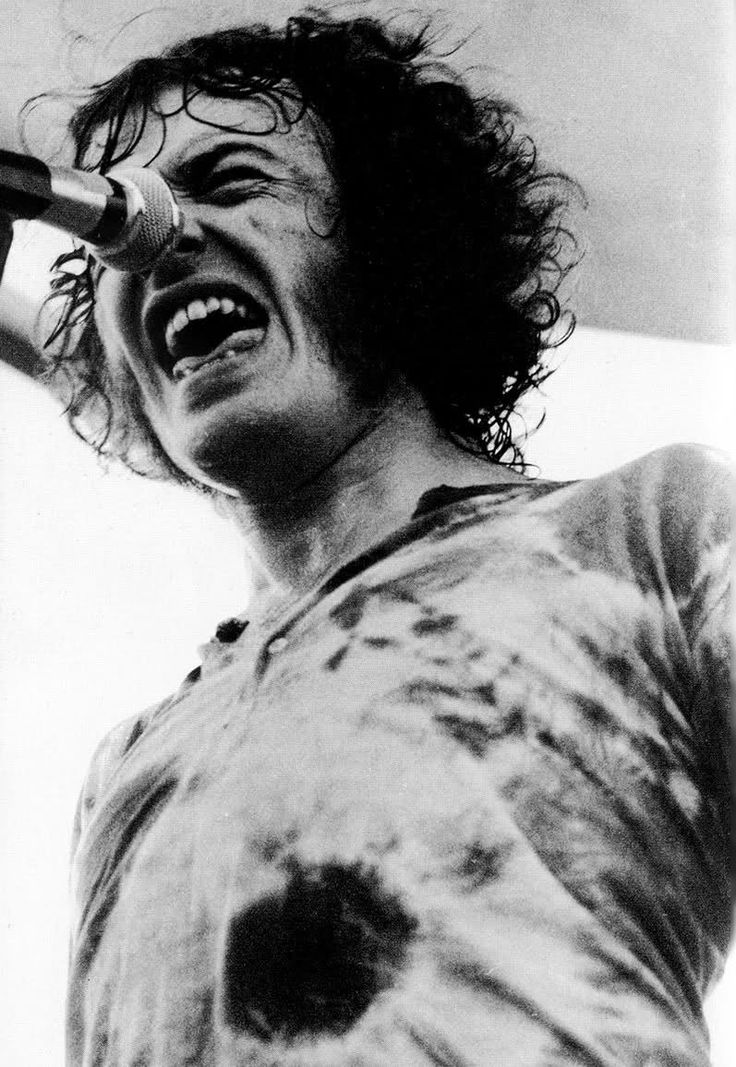 Joe Cocker at the Woodstock Festival in 1969