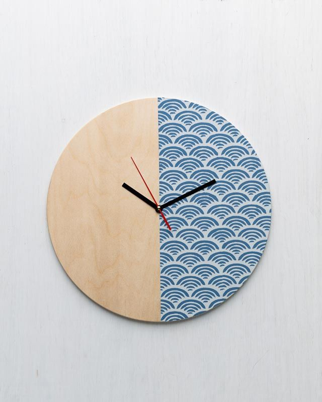 General Crafts - Stenciled Wall Clock by Martha Stewart Crafts