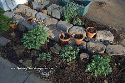 down spout drainageDownspout Area, Problems, Drainage Ideas, Minis Gardens, Front Beds, Concrete Form, Downspout Ideas, Mini Gardens, Spout Drainage Lov