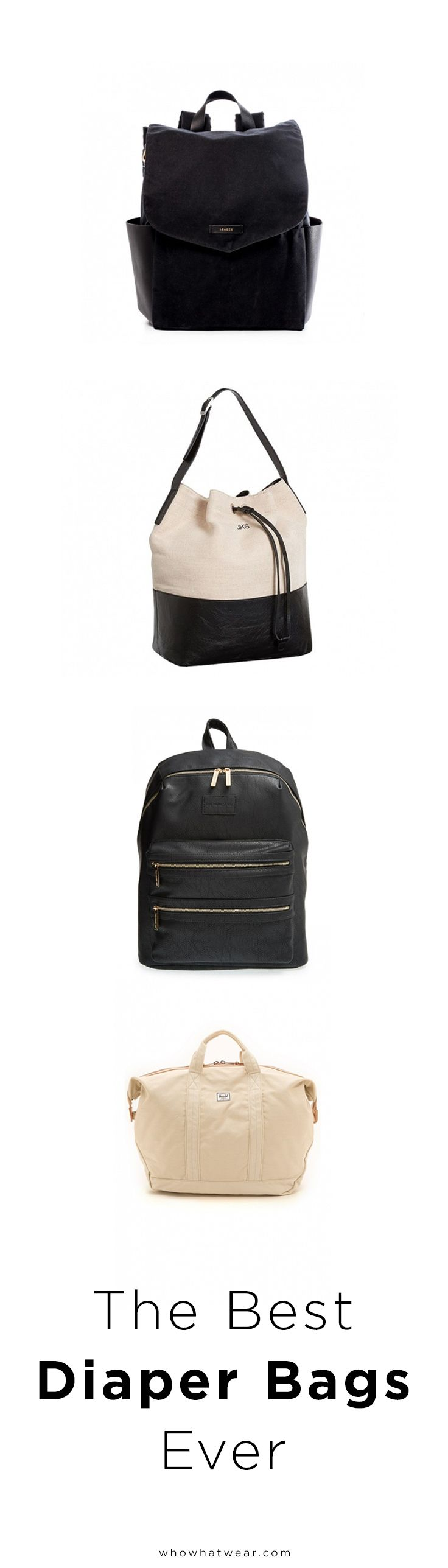 I hate the typical diaper bag - would much rather have a classic leather backpack style...