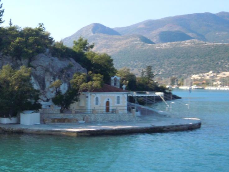 Agia Kiriaki church, Lefkada, Greece
