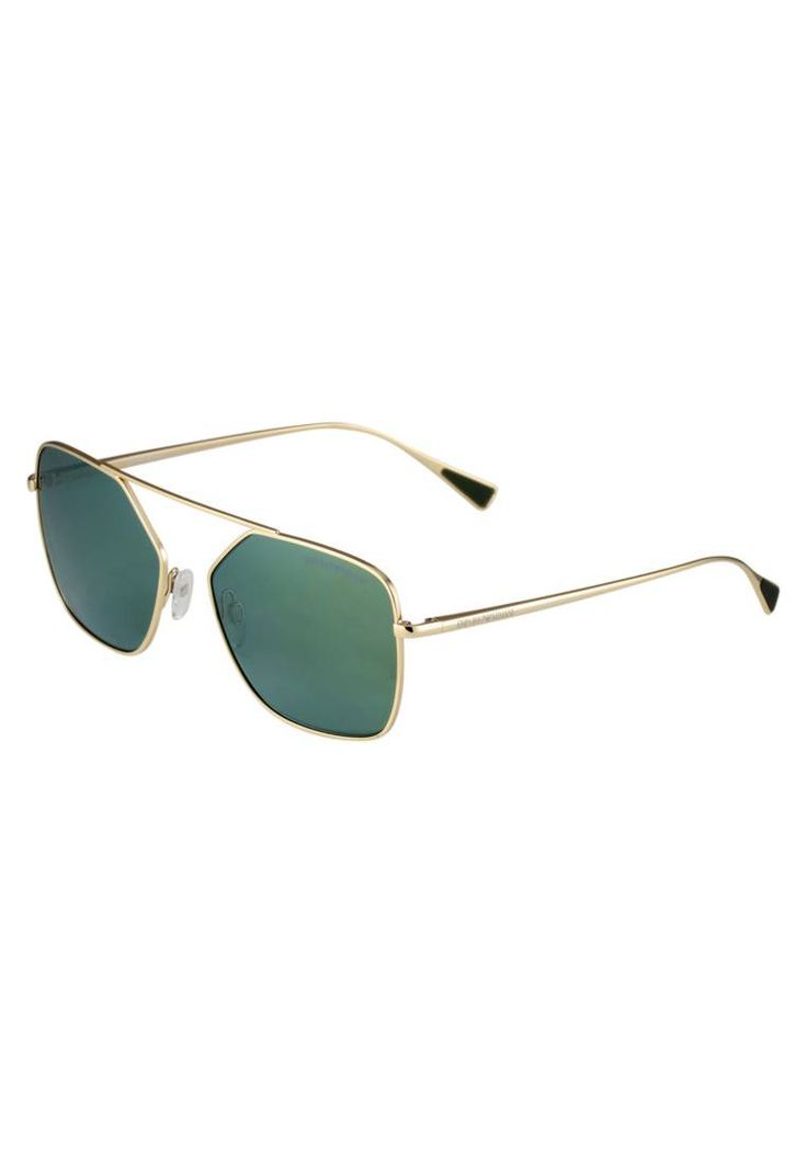 Emporio Armani. Occhiali da sole - pale gold-coloured. #occhialidasole #sunglasses #zalandoIT #fashion #moda Forma occhiali:Rettangolare. Protezione UV:Sì. Astine:14.0 cm nella taglia 56. Ponte:1.6 cm nella taglia 56. Larghezza:14 cm nella taglia 56. Fantasia:monocromo