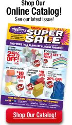 Cleaners Supply for sewing notions. Free shipping on orders over $100!